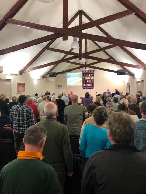 Fort William Baptist Church ecumenical Praise gathering 2019